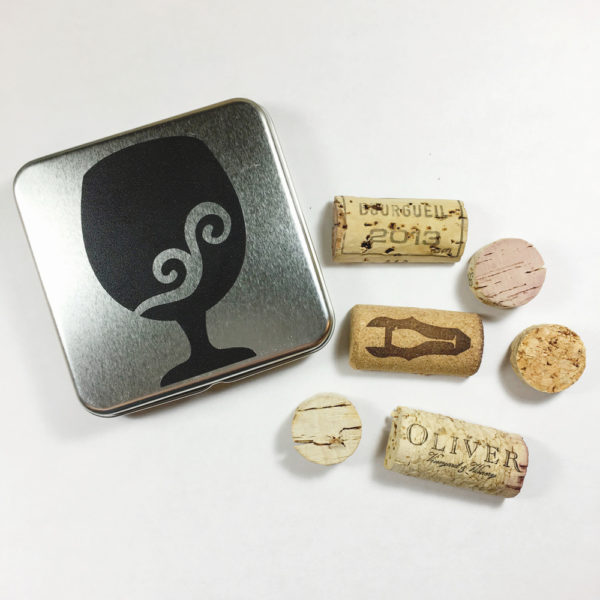 recycled cork magnets, upcycled cork magnets, wine cork fridge magnets, cool magnets for fridge, fridge magnet sets, fun fridge magnets, decorative refrigerator magnets