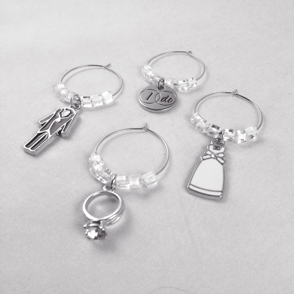 Wedding Wine Charms WINE62ab