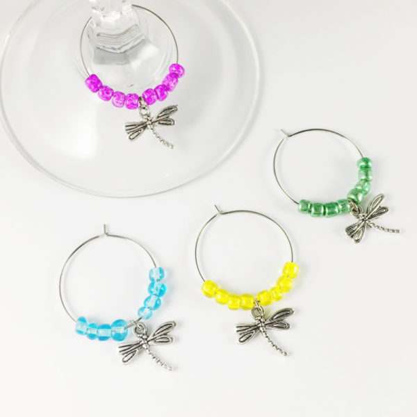 dragonfly wine charms, dragon fly wine charms, dragonfly kitchen accessories, wine charms dragonflies, wine charms dragonfly,