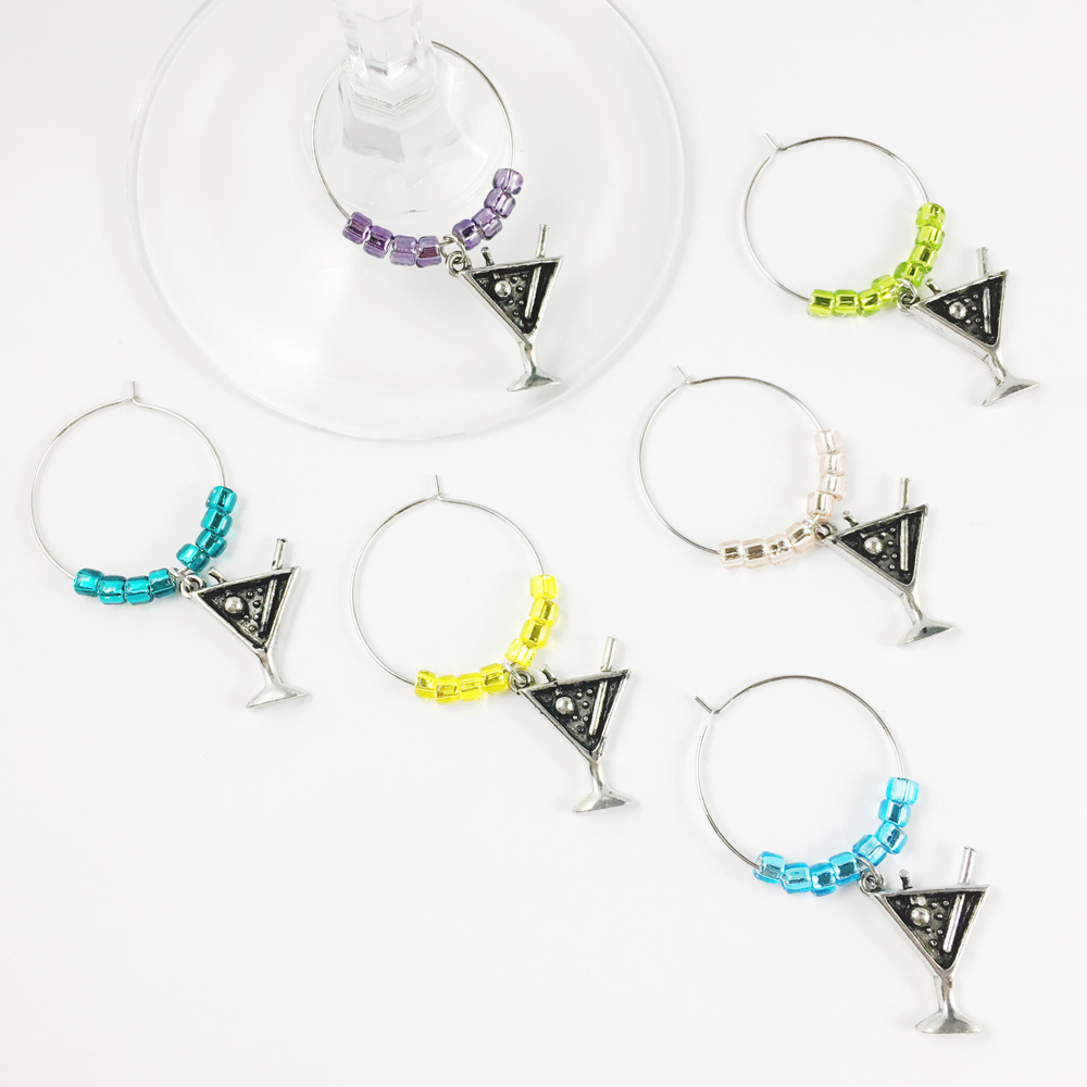martini glass charms therapy wine