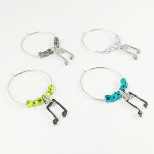 music wine charms, unique music gift idea, gift for classical music lover, music lover gift, classical music lover gift ideas, gifts for jazz lovers ideas, best jazz gifts, music theme gifts, jazz gift ideas, jazz music gift ideas, music note wine charms