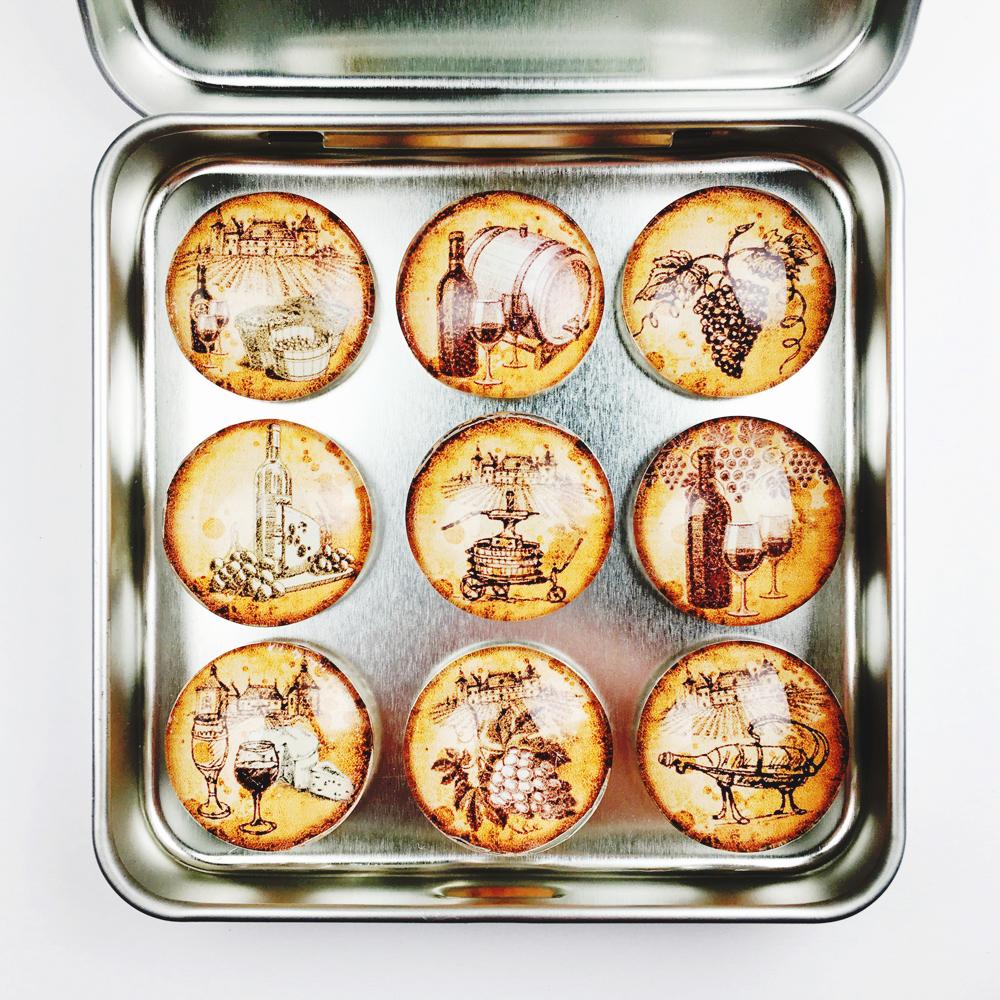 Vintage Fridge Magnets WMAG21c