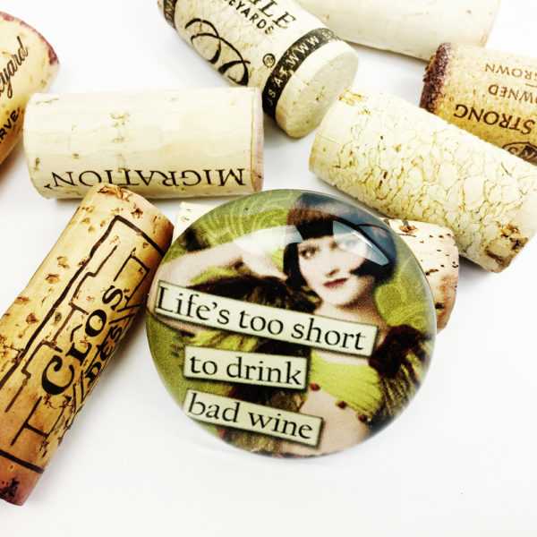 large funny wine magnet, funny wine magnet, funny refrigerator magnet, unique gift for wine lover, large refrigerator magnet, gift for wine lover, funny fridge magnet