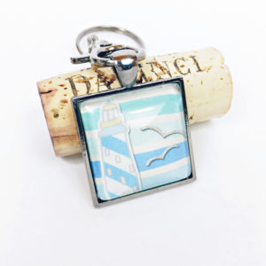 lighthouse keychain, lighthouse keychain favors, beachy keychain, beachy keychain favors, unique lighthouse gifts, unique lighthouse favors, seaside keychain favors, seaside keychains, unique lighthouse keychains