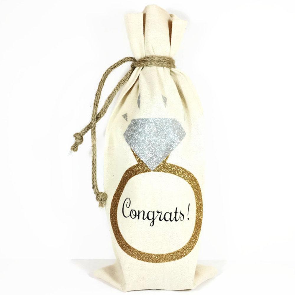 WRAP02aa Wine Bottle Gift Bag