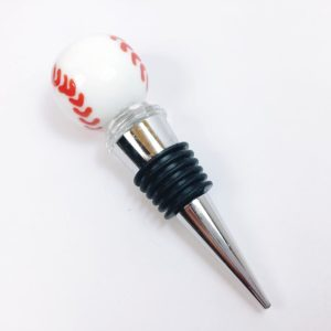 baseball wine stopper, Unique sports gifts, unique gifts for sports fans, sports Christmas gifts, gifts for sports fan, cool sports gifts, best sports gifts, sports related gifts, sports gift for him, sports theme gift basket ideas, sports and wine, unique baseball gifts, baseball theme gifts, cool baseball gifts, baseball mom gifts, baseball dad gifts