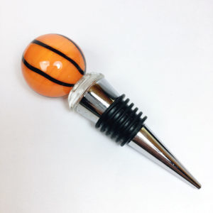 basketball wine stopper, Basketball gift, gifts for basketball coach, gift for basketball coach, basketball coaches gift, gift for basketball fan, cool basketball gifts, basketball Christmas gifts, gifts for basketball lovers, unique basketball gifts