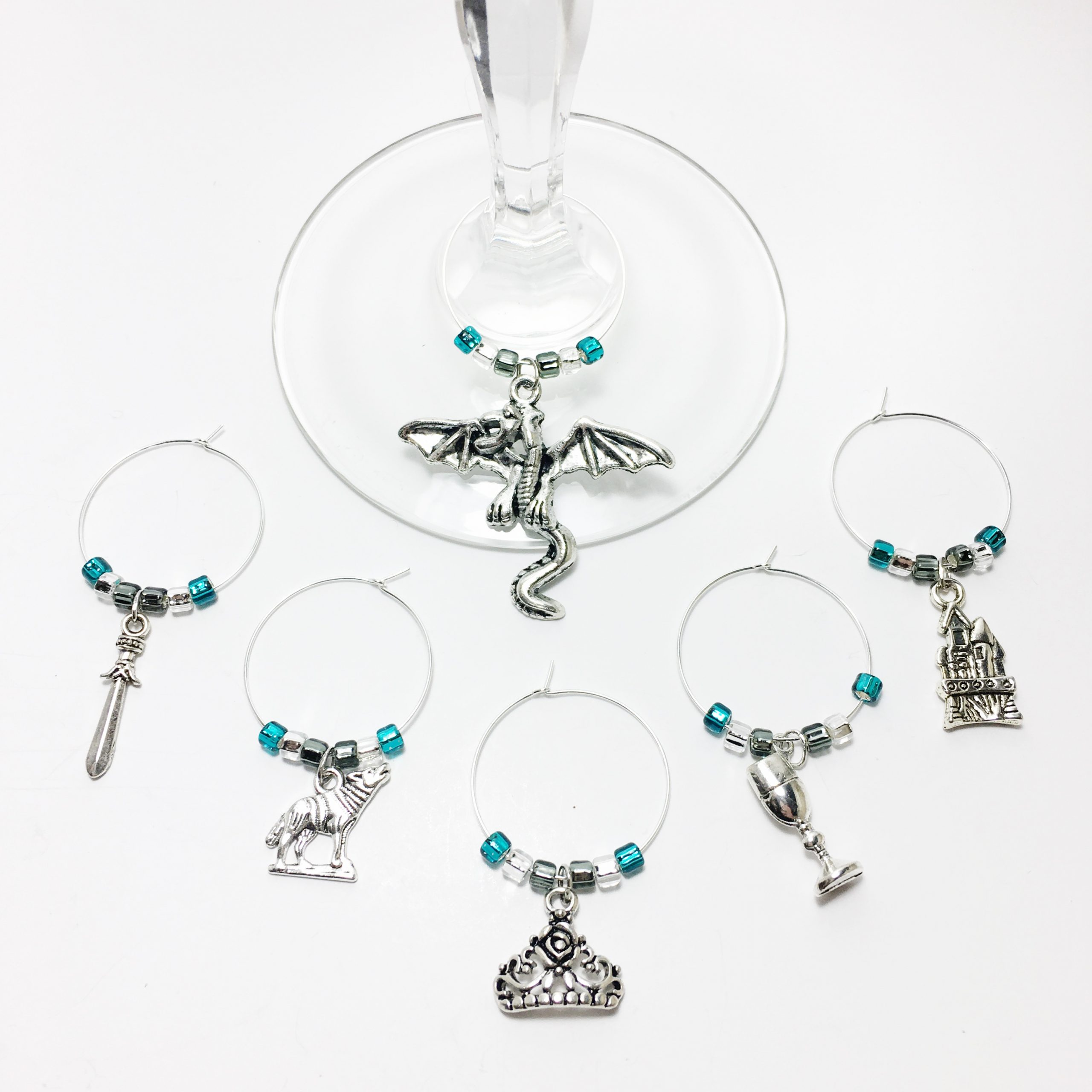 Game of Thrones Wine Charms WINE181a