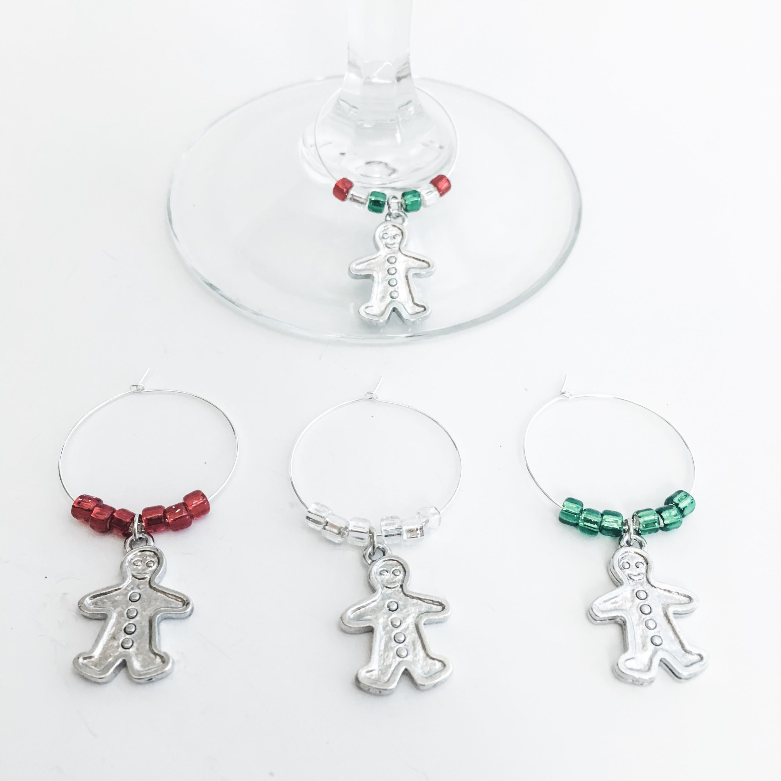 gingerbread wine charms