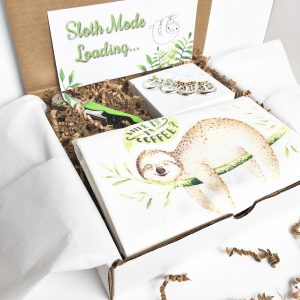 sloth lovers gift set