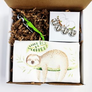 gift box for sloth lovers