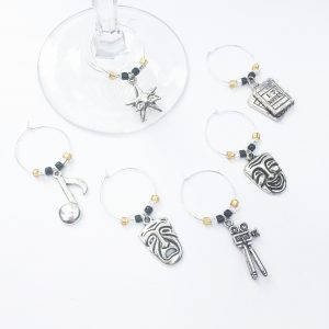 wine charms for adult game night