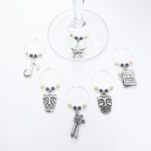 wine charms for casino night