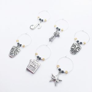 wine charms for oscars watching party