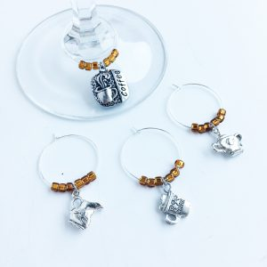 wine charms for coffee addicts