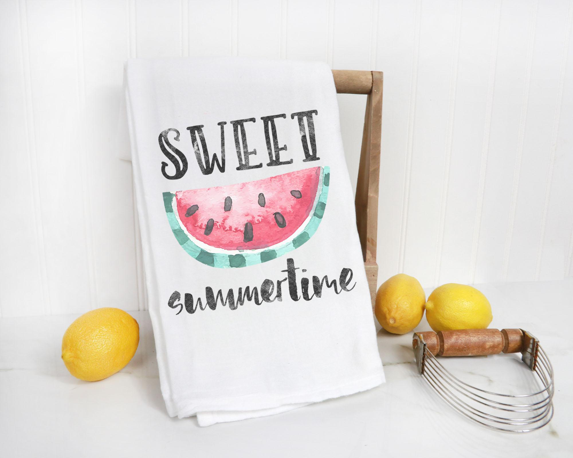 Watermelon Flour Sacke Towel TOWL03a