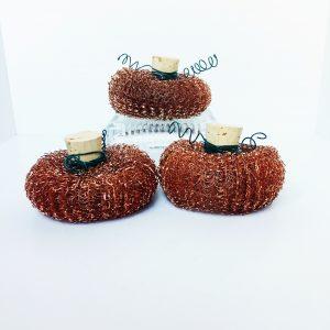 small fake pumpkins