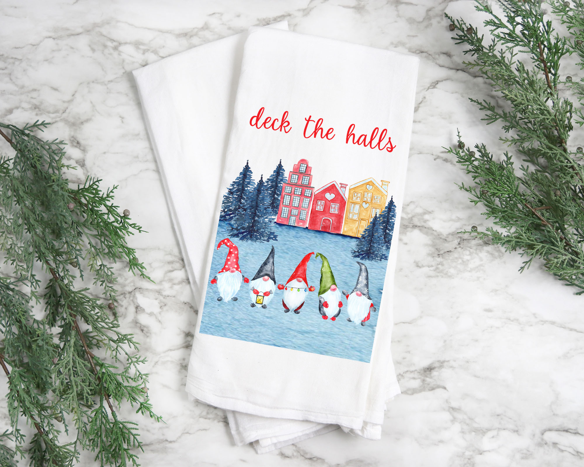 Swedish Gnome Towels
