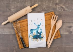 kitchen tea towels for christmas