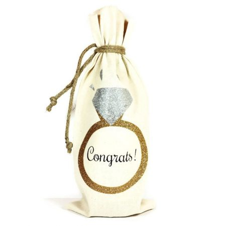Congrats Wine Bag